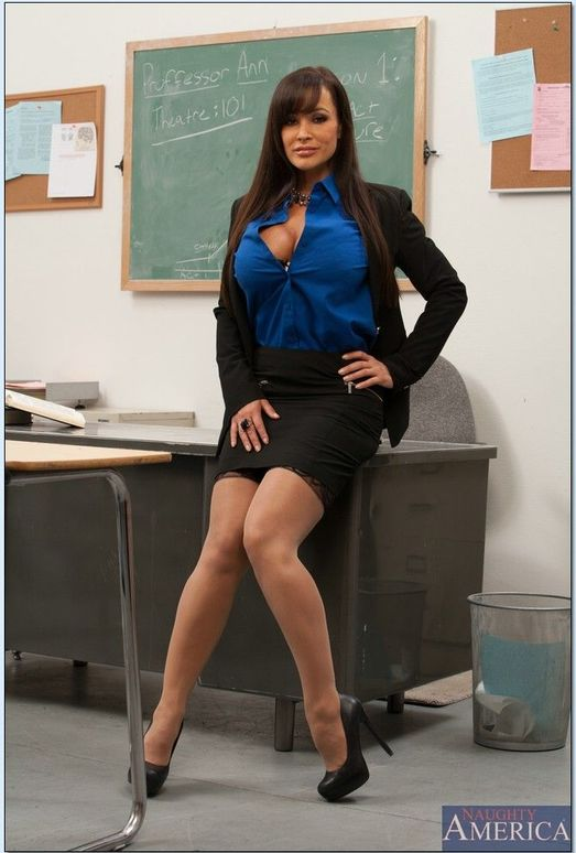 Lisa Ann - My First Sex Teacher