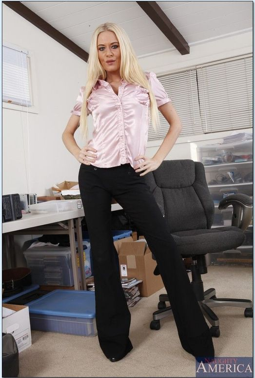 Riley Evans - Naughty Office