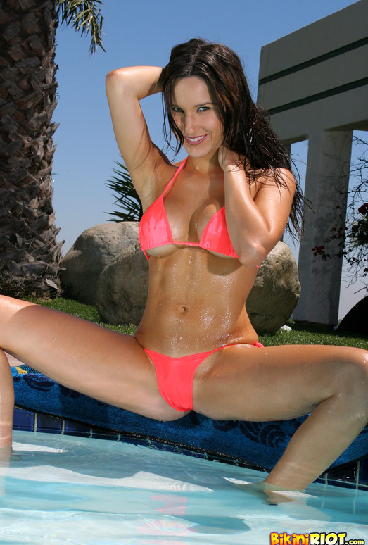 Erin Avery - Soaking Wet in Pool