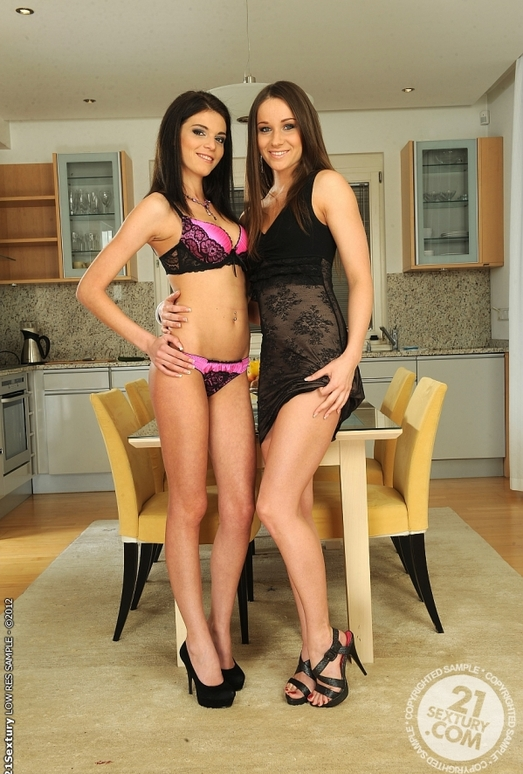 Ashley, Denisa Doll - 21 Sextury