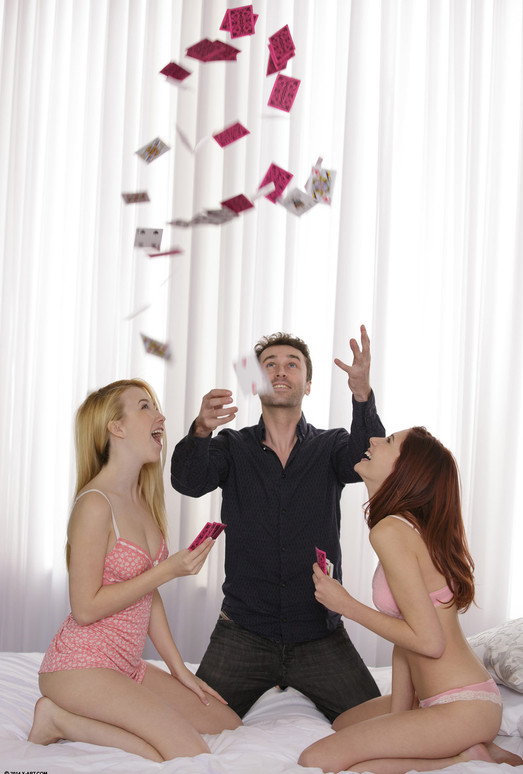 Ashley S, Sammy & James Deen - Go Fish - X-Art