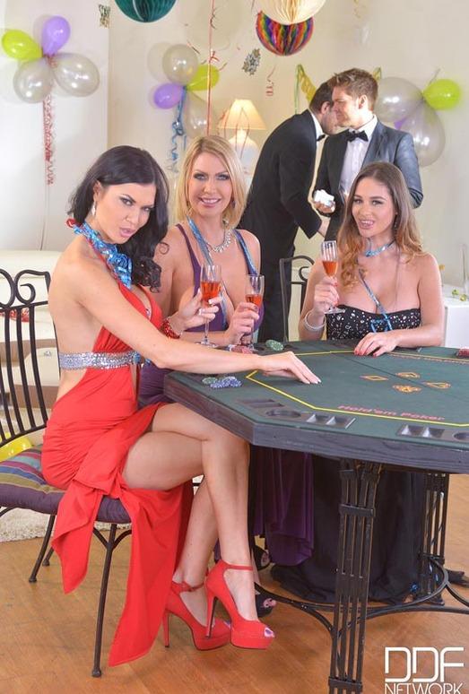 Cathy Heaven, Jasmine Jae & Leigh Darby