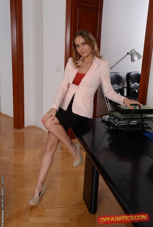 Sabrina Moore - The Seductress of the Office - DPFanatics