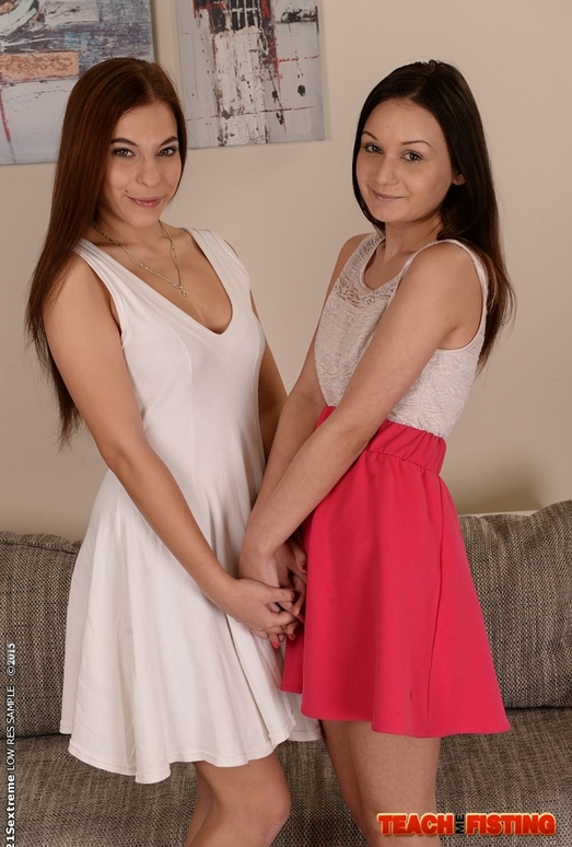 Candy Bell - Teaching Anina - Teach Me Fisting