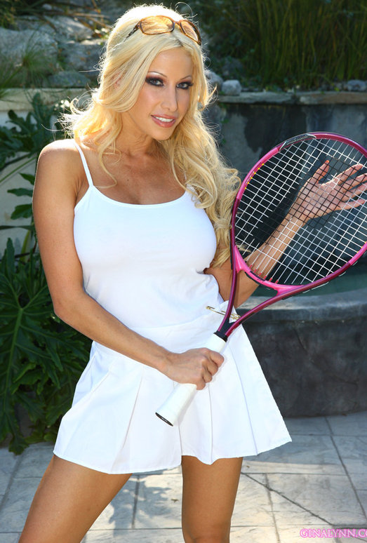 Gina Lynn Combines Her Love Of Tennis And Sex