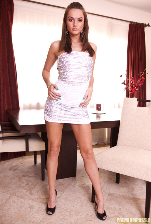 Tori Black undresses for the camera