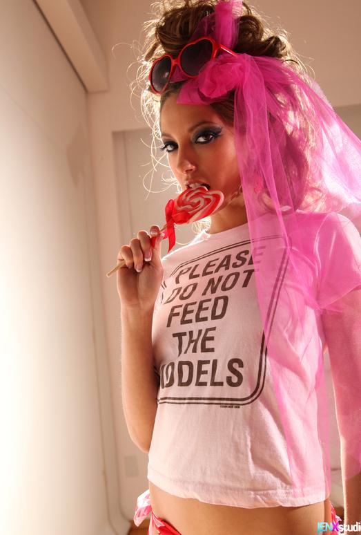 Jenna Haze's Girly 80s Side