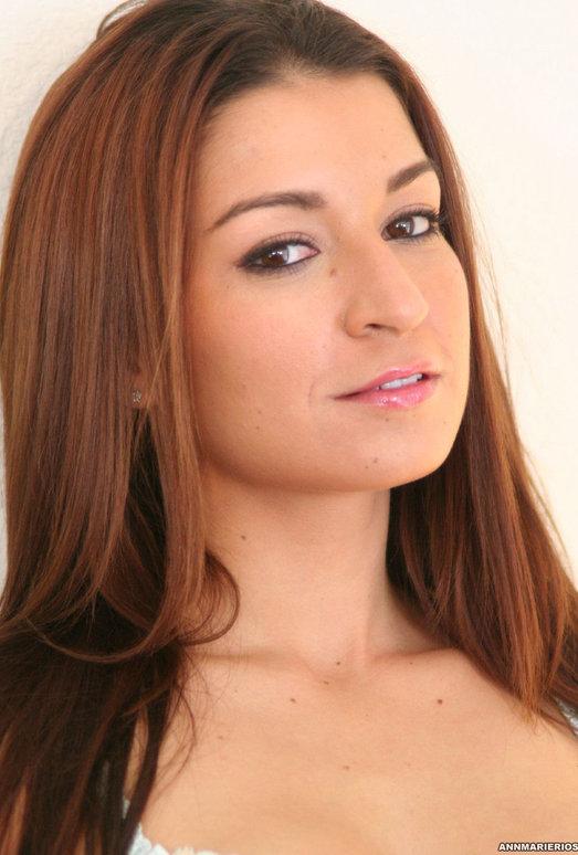 Pornstar Ann Marie Rios Playing ''Girl Next Door''