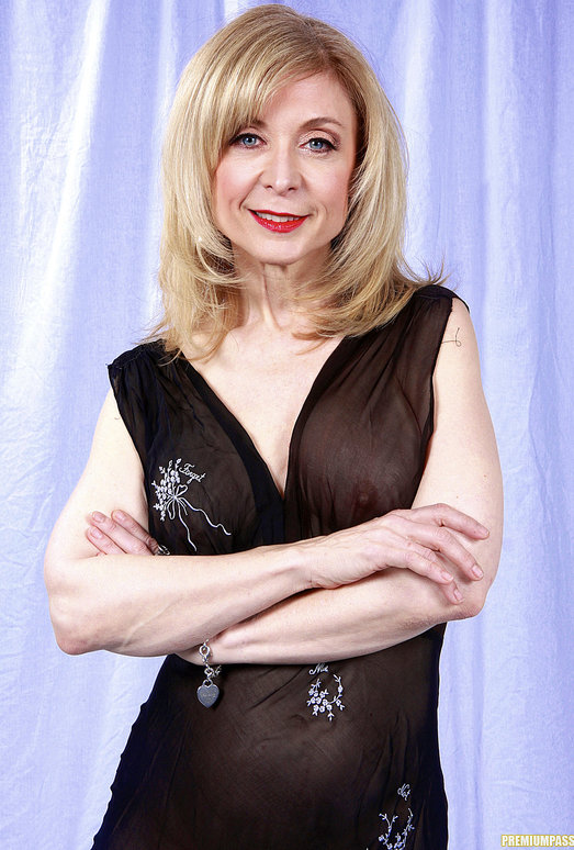 Nina Hartley and the Transparent Black Dress