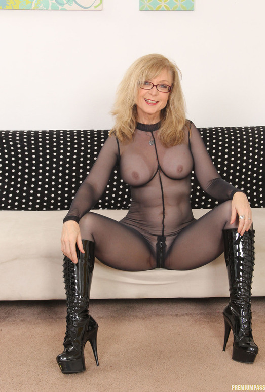 Nina Hartley - Full Body Pantyhose and Face Sitting