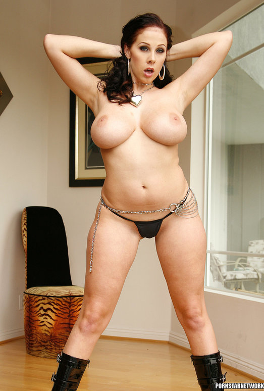 Gianna Michaels Gets Naked and Gets Fucked