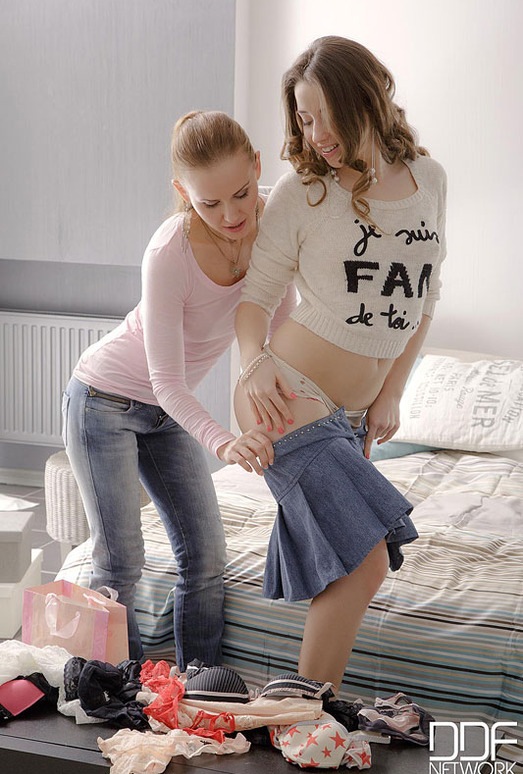 Sabrina Moor & Taissia Shanti - Euro Teen Erotica