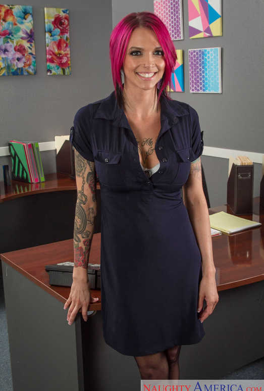 Anna Bell Peaks - Naughty Office
