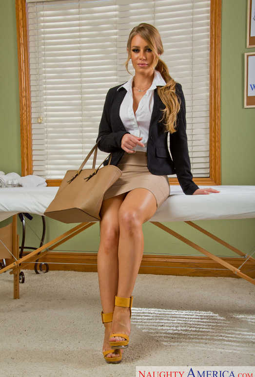 Nicole Aniston - My Naughty Massage
