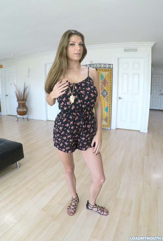 Dillion Carter Gives a Tits Fuck and Blowjob