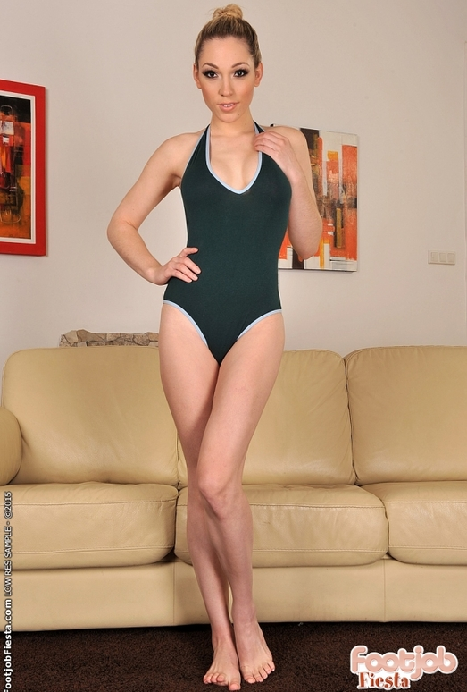 Lily LaBeau - Footsie Gymnastics - Foot Job Fiesta