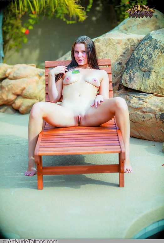 Lawn Chair Nudes - Sasha - Art Nude Tattoos