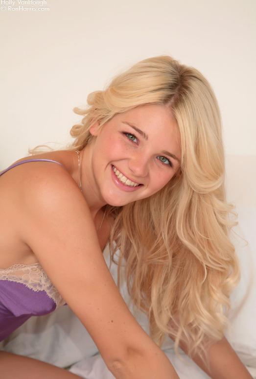Holly Van Hough - Purple Slip