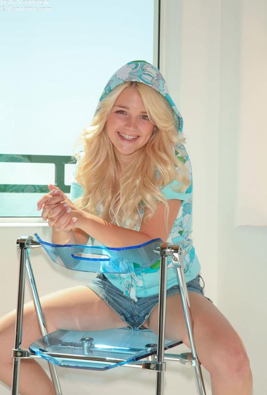 Holly Van Hough - Blue Chair