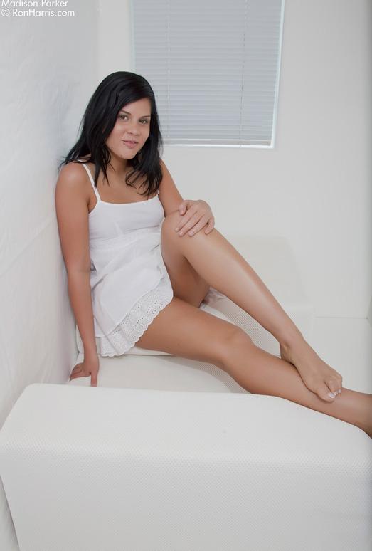 Madison Parker - White Dress