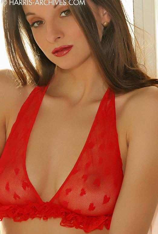 Sanja - Red Stockings