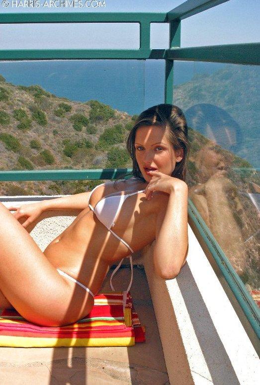 Sandra Shine - White Bikini