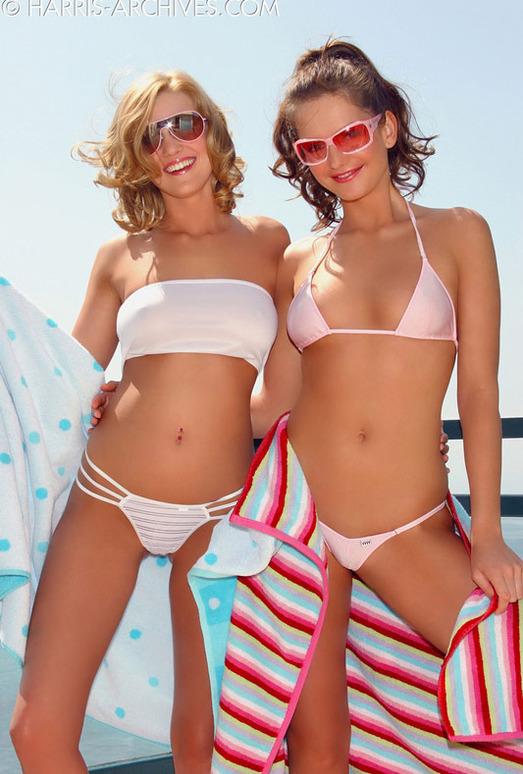 Sandra Shine & Carli Banks - Bikini