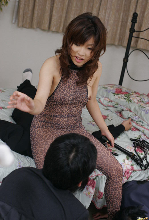 Kana Shimada gets fucked hard by two wild studs