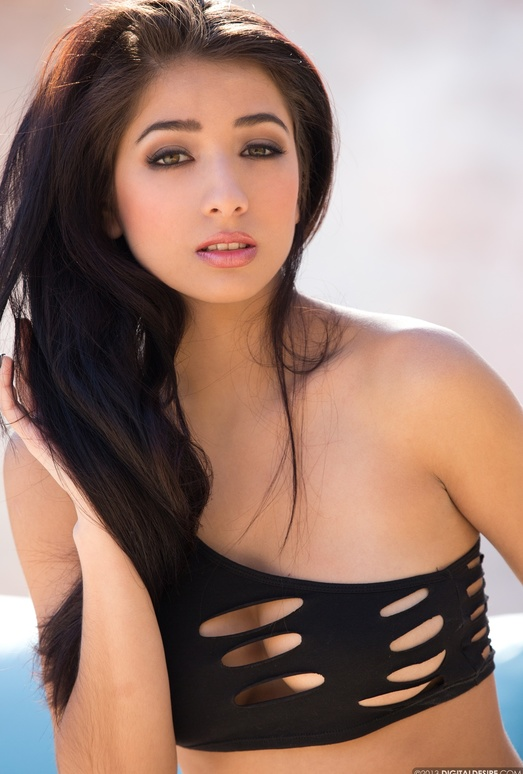 Megan Salinas Is Hot To The Touch