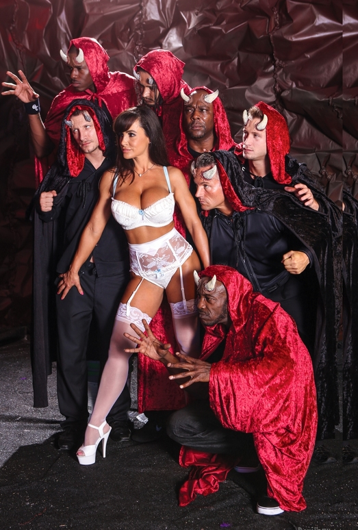 Lisa Ann, Mark Anthony, D-Snoop - The Devils GangBang