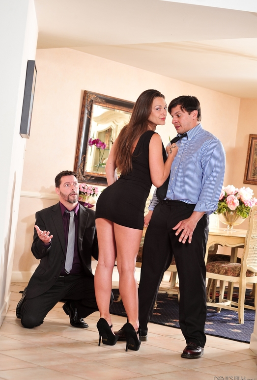 Olivia Wilder, Jack Vegas - Seduced By The Boss's Wife #04