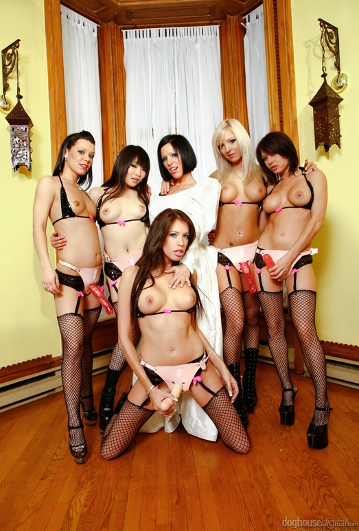 Girly Gang Bang #10