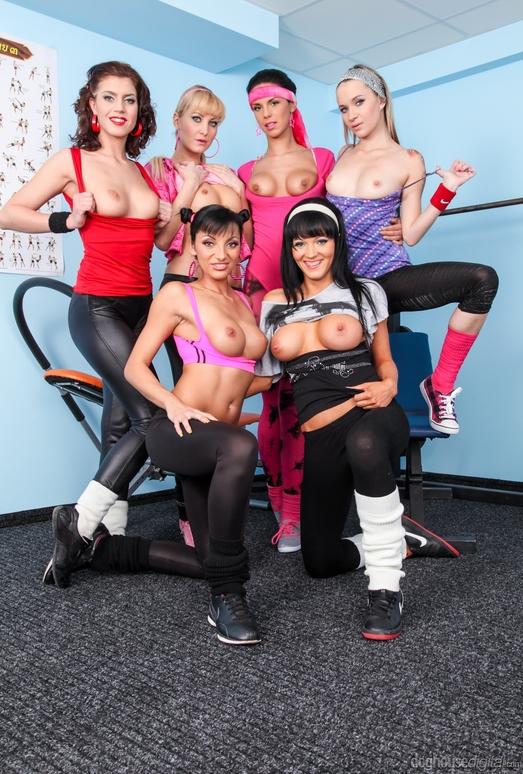 Lesbian Oil Orgy #02