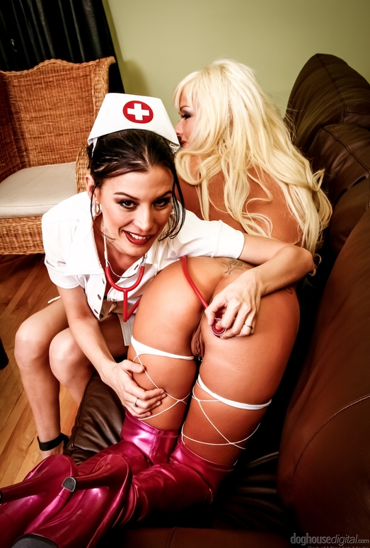 Amy Lee, Patricia Petite - Naughty Lesbian Nurses Volume Two