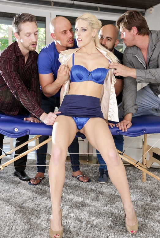 Blanche Bradburry - 4 On 1 Gang Bangs #06