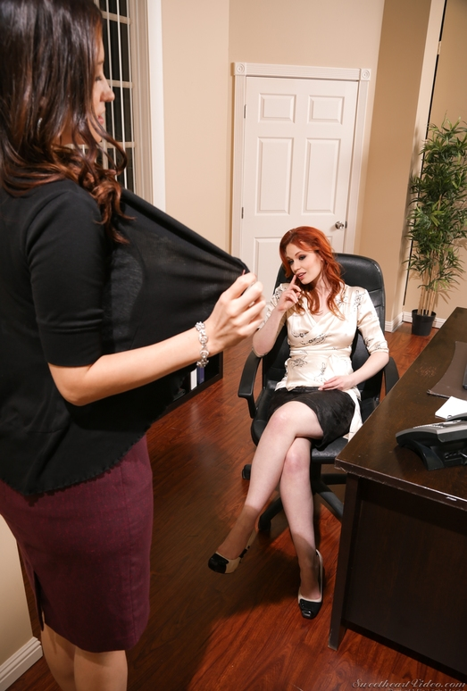 Kimberly Kane, Justine Joli - Lesbian Office Seductions #09