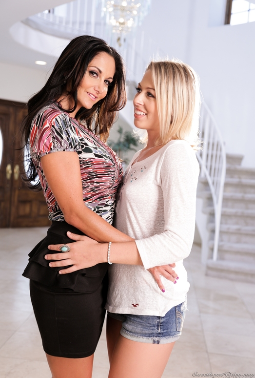 Lesbian Adventures - Older Women Younger Girls #06