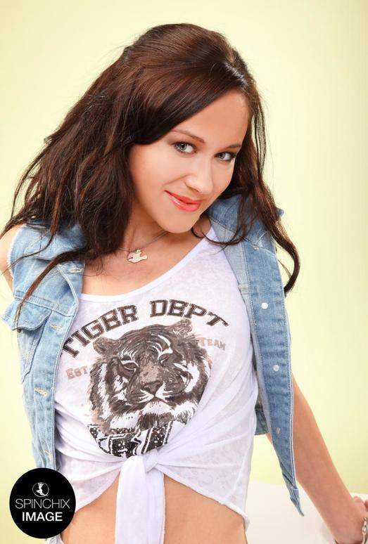 Nic's tiger T-shirt - Spinchix