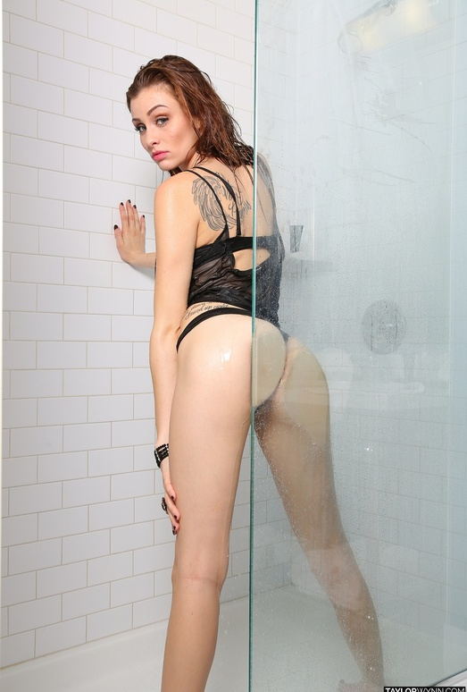 Taylor teases in the shower