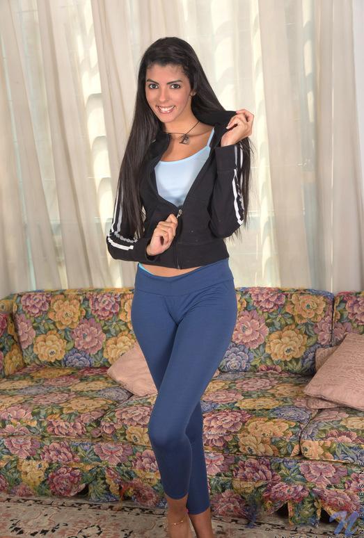 Angela Diaz - latina teen pleasuring herself