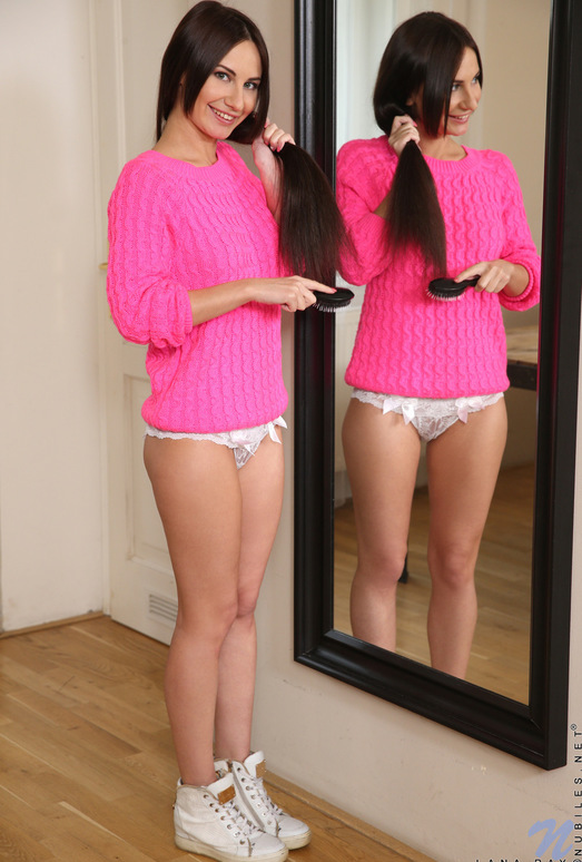 Lana Ray - mirror pussy