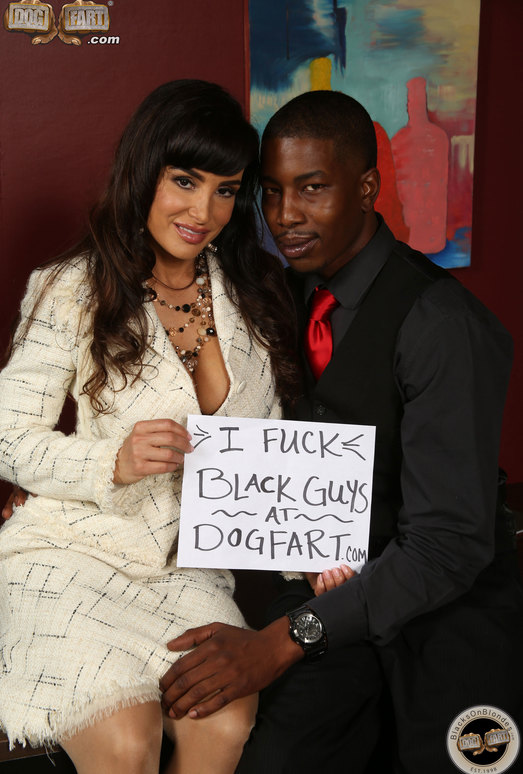 Lisa Ann - Blacks On Blondes