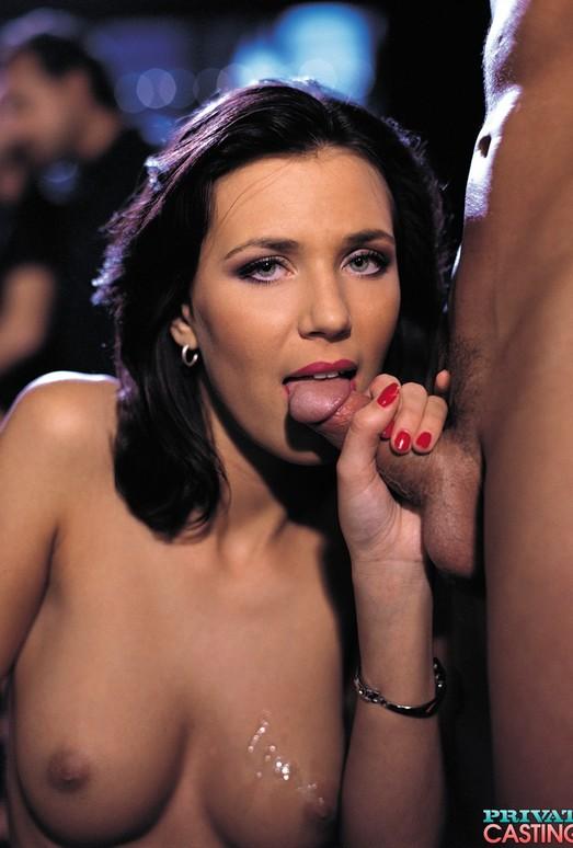 Briggitte, Nasty Teen in a Private Porn Casting