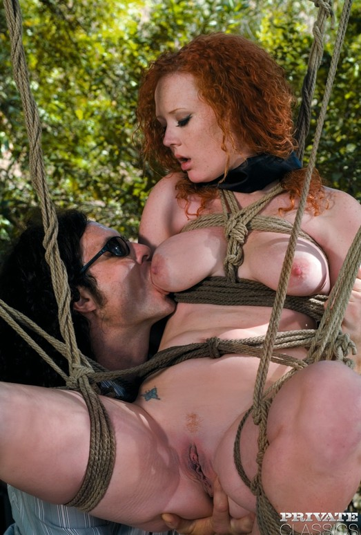 Redhead Audrey Hollander is Fucked Outdoors