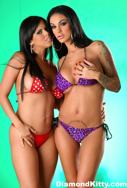 Diamond Kitty and Angelina Valentine Get Very Naughty