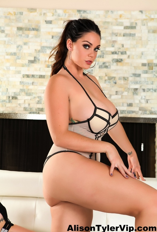 Alison looking hot on the couch - Alison Tyler