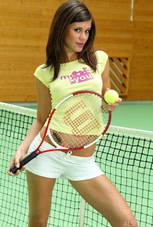 Little Caprice - Cause a Racquet - ALS Scan
