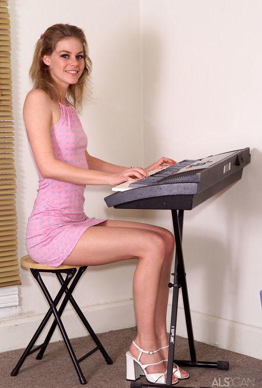 Amber - Recital Practice - ALS Scan