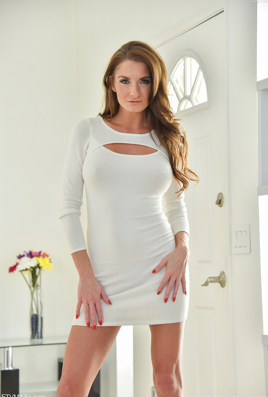Silvia - Tight White Dress - FTV Milfs