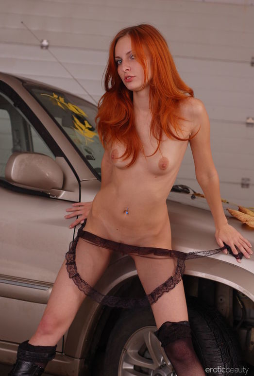 Alyssa F - Orange Hair 2 - Erotic Beauty